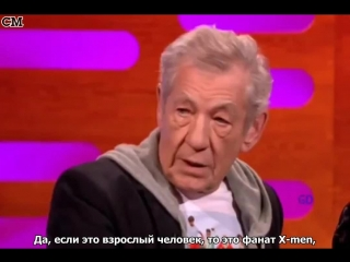One Direction & Ian McKellen on The Graham Norton Show